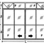 Porta de Correr - 4 folhas com bandeira